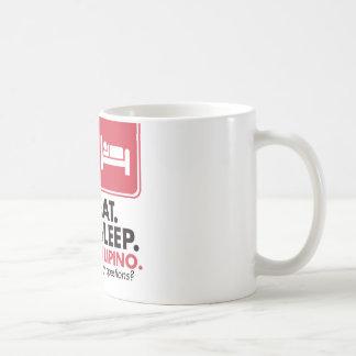 Eat Sleep Filipino - Red Coffee Mug