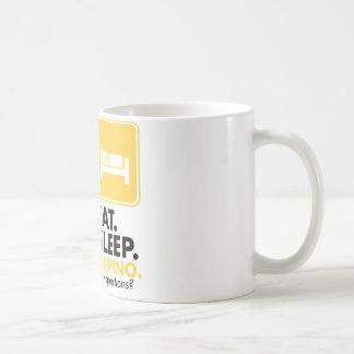 Eat Sleep Filipino - Yellow Coffee Mug