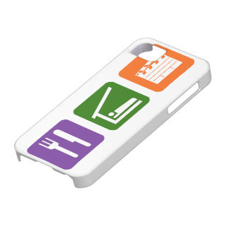 Eat Sleep Film Production iPhone 5 Cover