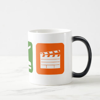 Eat Sleep Film Production Magic Mug