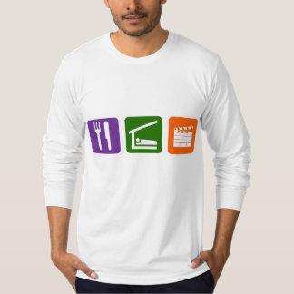 Eat Sleep Film Production T-Shirt