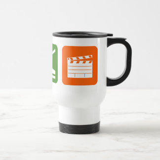 Eat Sleep Film Production Travel Mug