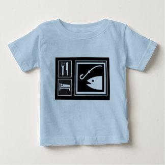 Eat Sleep FISH! Baby T-Shirt