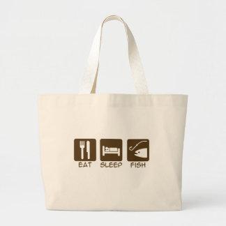 Eat Sleep Fish Bag