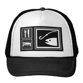Eat Sleep FISH! Hat