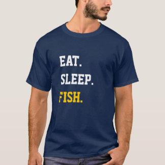 Eat Sleep Fish T-Shirt