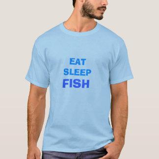 EAT SLEEP, FISH T-Shirt