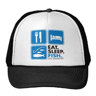Eat Sleep Fish Trucker Hat