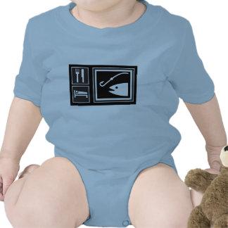 Eat Sleep FISH! Tshirts