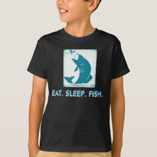 Eat, Sleep, Fish Youth Tee