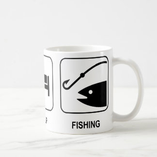 Eat Sleep Fishing Mug