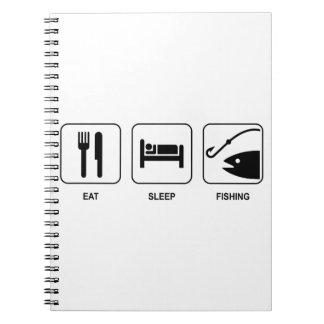 Eat Sleep Fishing Notebook