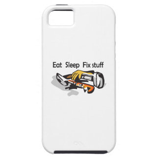 EAT SLEEP FIX STUFF iPhone 5 COVERS