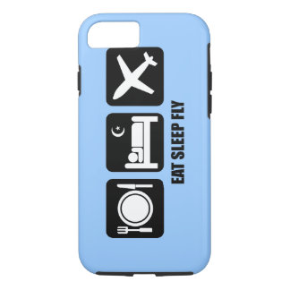 eat sleep fly iPhone 7 case