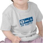 Eat Sleep Fly T Shirt