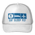 Eat Sleep Fly Trucker Hat