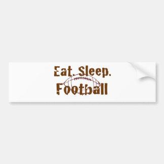 Eat.Sleep.Football 08 Bumper Sticker