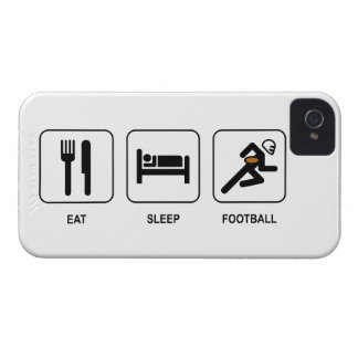 Eat Sleep Football Case-Mate iPhone 4 Case