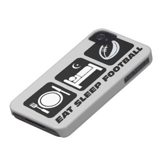 eat sleep football iPhone 4 case