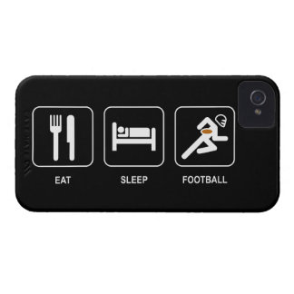 Eat Sleep Football iPhone 4 Cover