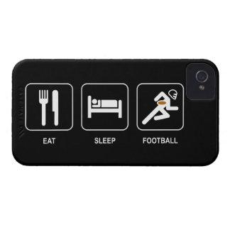 Eat Sleep Football iPhone 4 Covers