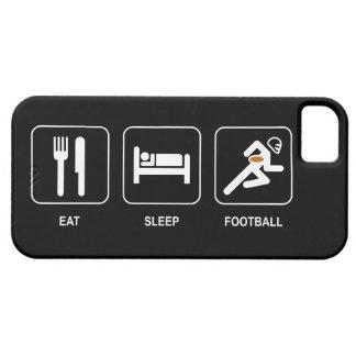 Eat Sleep Football iPhone 5 Case