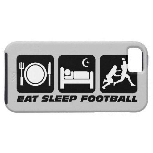 eat sleep football iPhone 5 covers