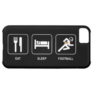 Eat Sleep Football iPhone 5C Cover