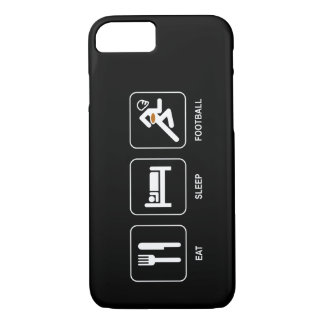 Eat Sleep Football iPhone 8/7 Case