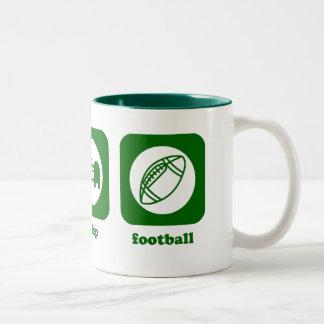 Eat. Sleep. Football. Mug