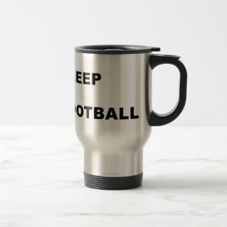 Eat, sleep, football, repeat. mugs