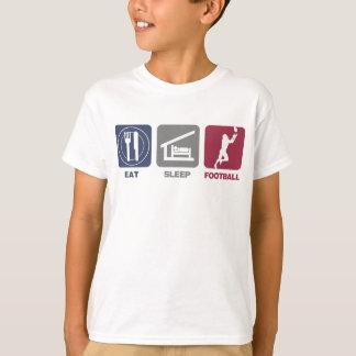 Eat Sleep Football T-Shirt