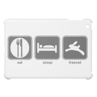 Eat Sleep Freenet iPad Mini Cases