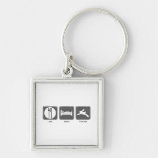Eat Sleep Freenet Keychain