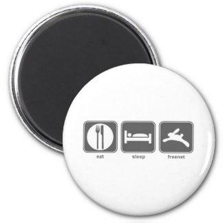 Eat Sleep Freenet Magnet