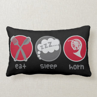 Eat Sleep French Horn Music Quote gift Pillows