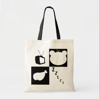Eat, Sleep, Fun, Bearlism bag