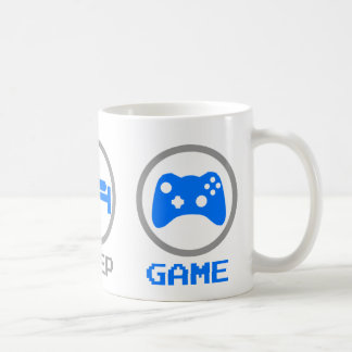 Eat Sleep Game Again - Gamer, geek video games Mug