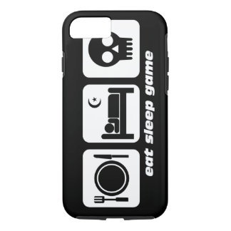 eat sleep game iPhone 7 case