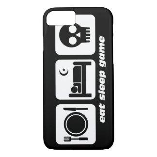 eat sleep game iPhone 7 case