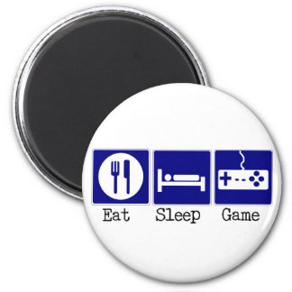 Eat, Sleep, Game Magnet