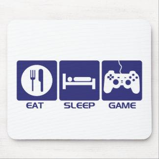 Eat Sleep Game Mouse Pad