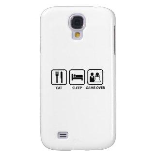 Eat Sleep Game Over Samsung S4 Case