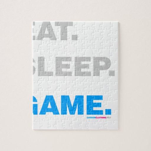 Eat Sleep Game Puzzles