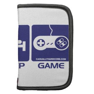 Eat Sleep Game Retro Folio Planners