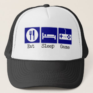 Eat, Sleep, Game Trucker Hat
