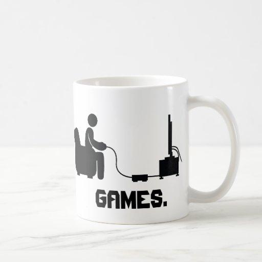 Eat, Sleep, Games Mug