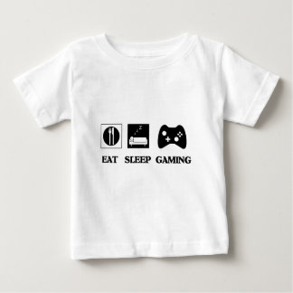 Eat Sleep Gaming Baby T-Shirt