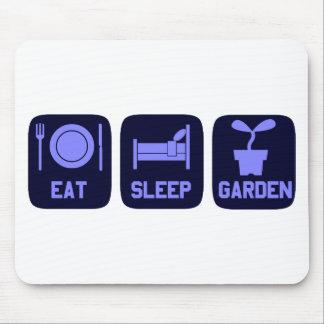 Eat Sleep Garden Mousepad