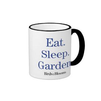 Eat. Sleep. Garden. Ringer Mug